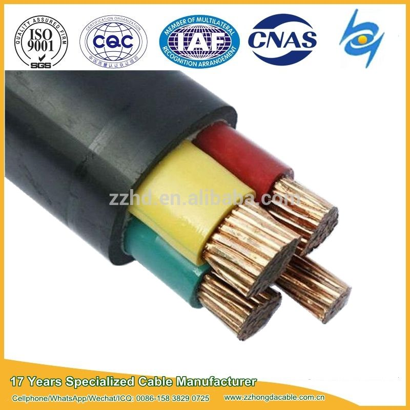 600 1000v 2 Core 4 Core Xlpe Insulated Lszh Fire Resistant Cables Power Cable Power Manufacturing