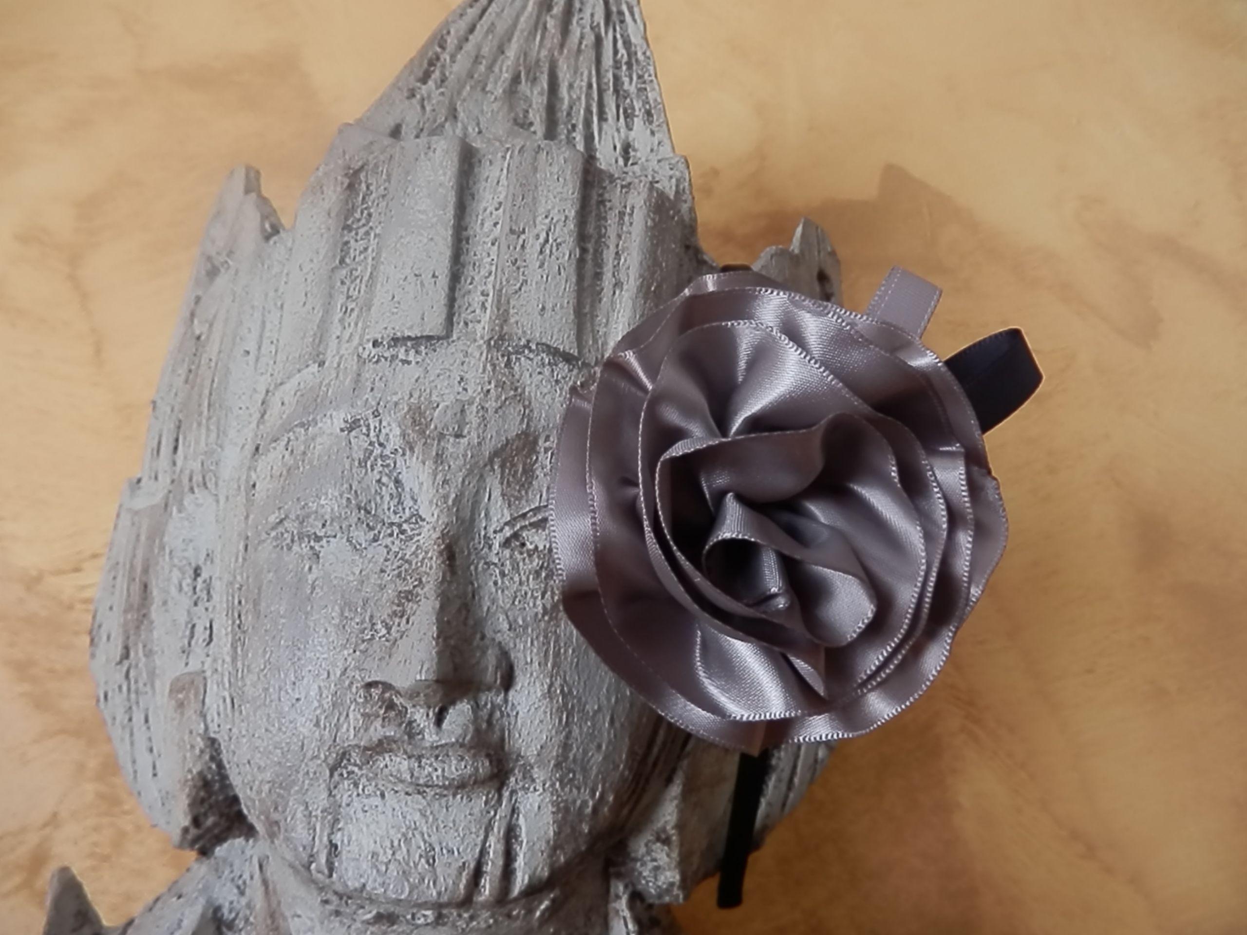 cintas y Perlas de Algodón de Lun a color Rata