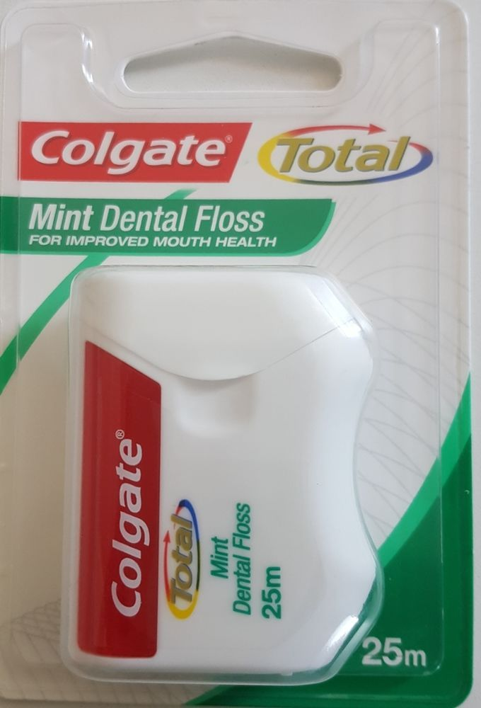 Details about 1 Pack Colgate Total Mint Dental Floss 25m
