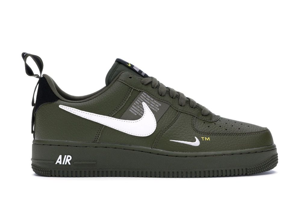 Nike Air Force 1 Low Utility Black White With Images Custom