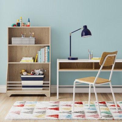 Landry Kids Bookcase Natural/White   Pillowfort