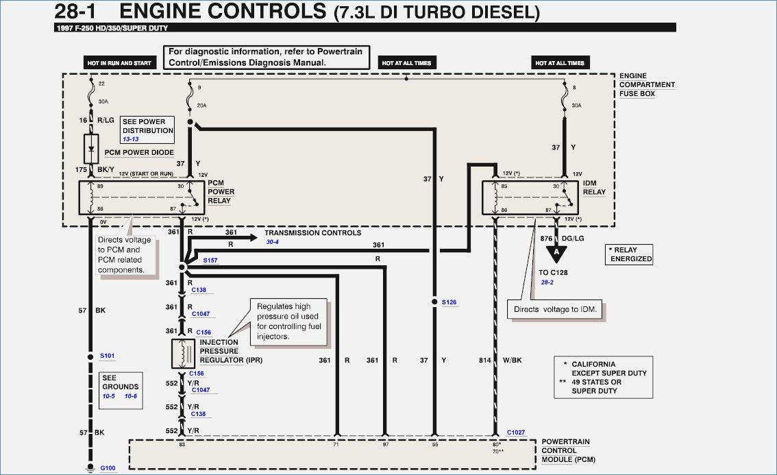 Image Result For 7 3 Powerstroke Wiring Diagram Diagram Ford