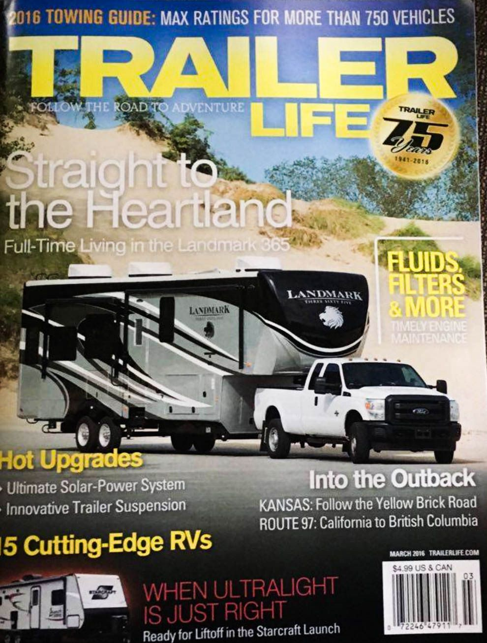 Pin By Heartland Rvs On Landmark 365 Luxury Full Time