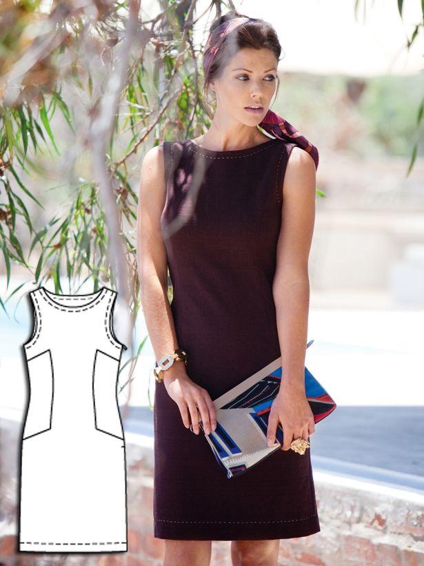 Honeymooners: 10 New Women\'s Sewing Patterns   Leinenkleid