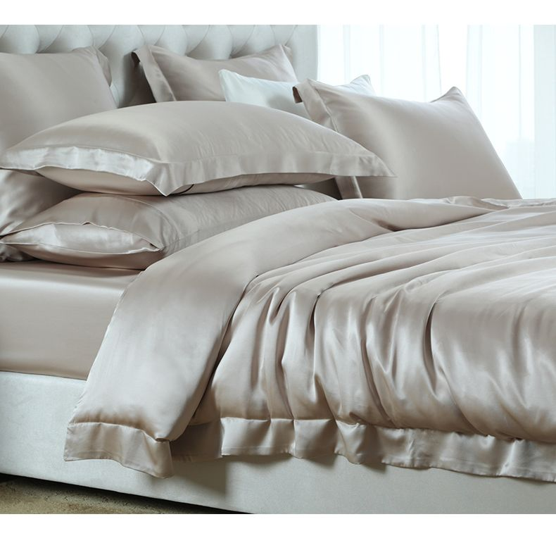 Superbe Silk Luxury Bedding Silk Bed Sheets Online Https://www.snowbedding.com