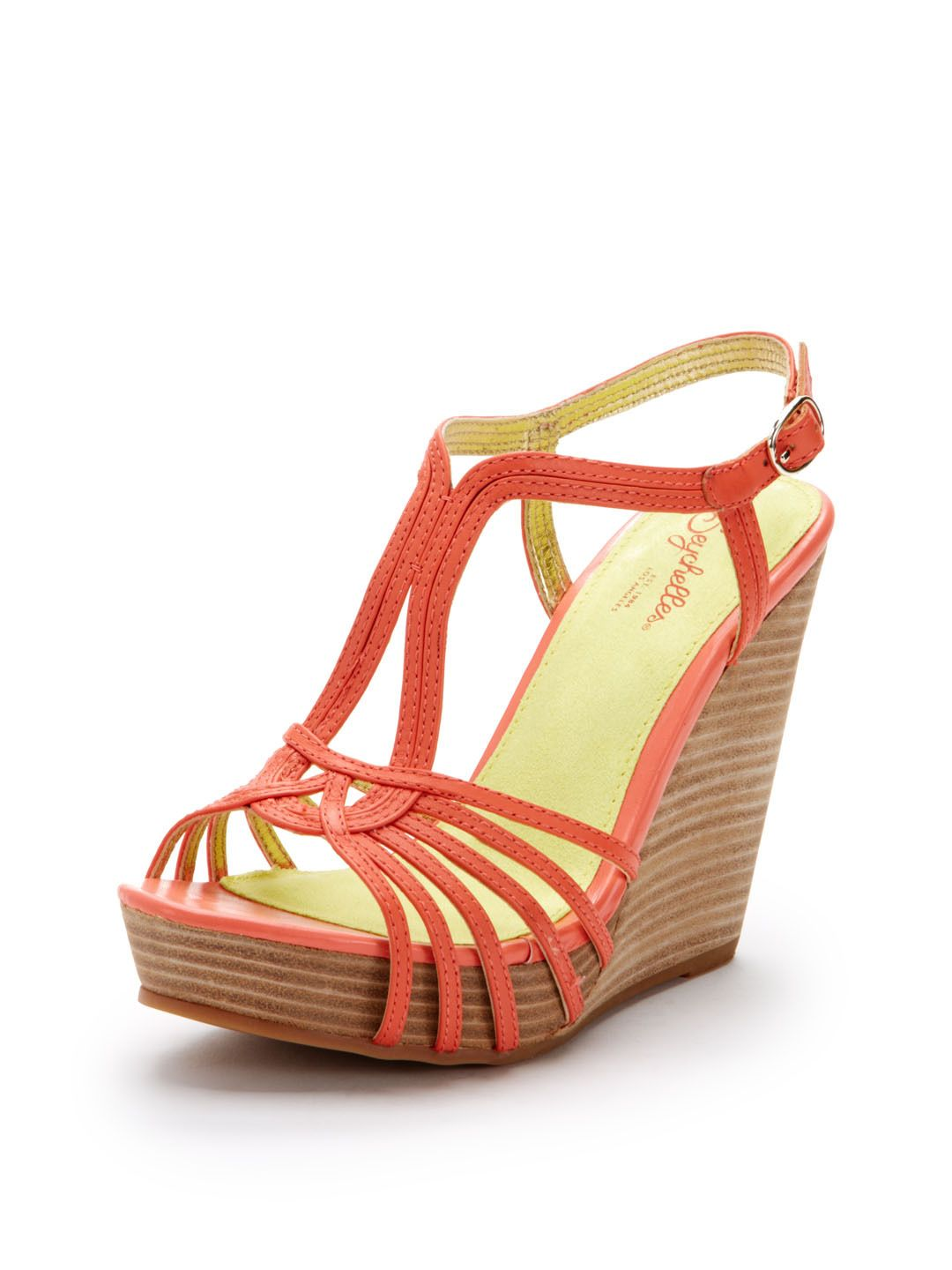 b4d069711c Gale Force T-Strap Wedge Sandal by Seychelles at Gilt