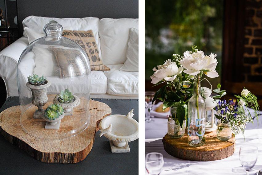 la fabrique d co diy id es d co avec des souches des b ches ou du bois flott deco. Black Bedroom Furniture Sets. Home Design Ideas