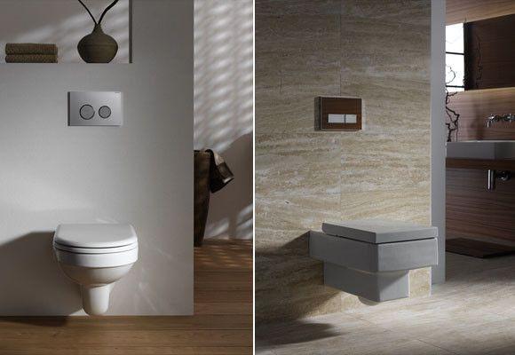 Reforma Baño: Inodoros de pared, que mejoran la sensación de espacio del baño