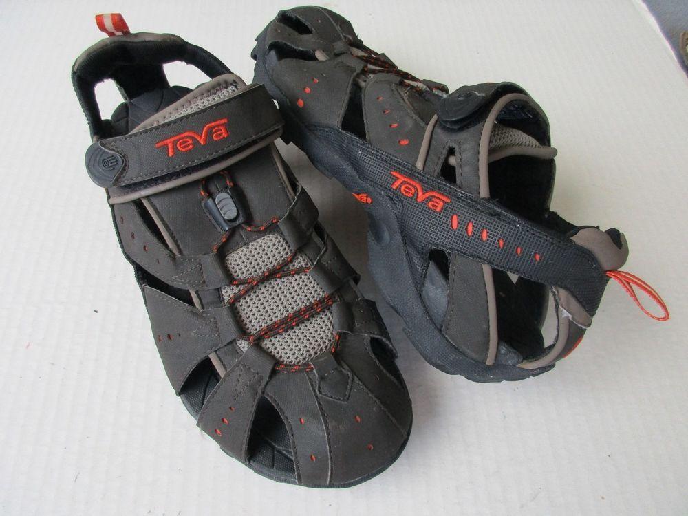 f9658d3624dd TEVA 6704 All Terrain Dozer Trail Hiking Closed Toe Sandals Mens Size 10   Teva  SportSandals