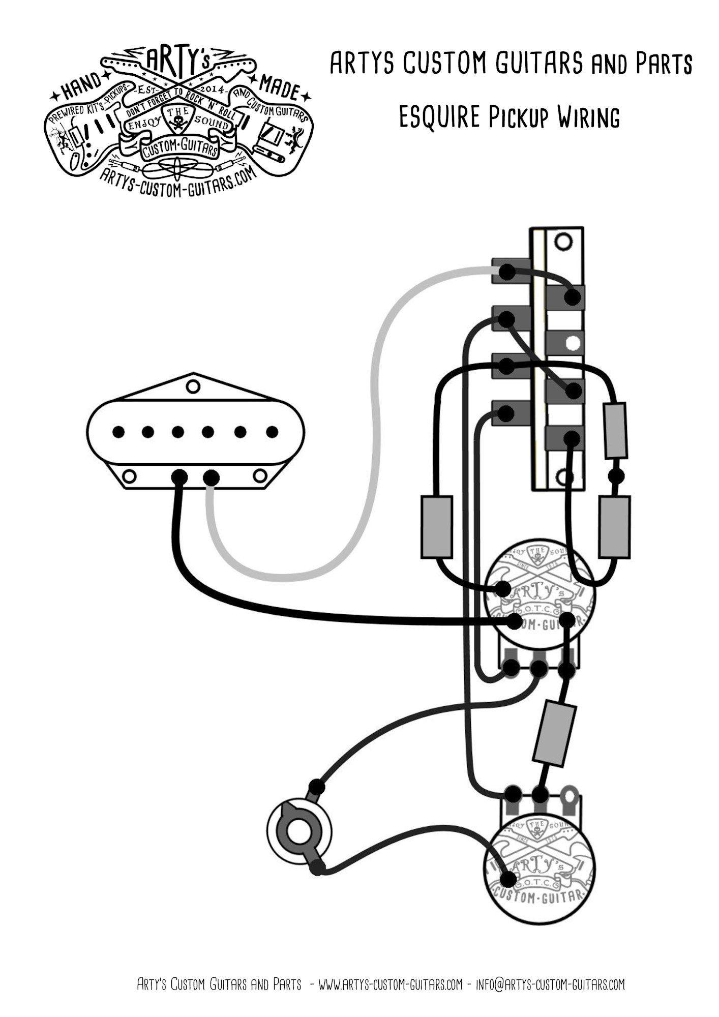 telecaster wiring diagram emerson