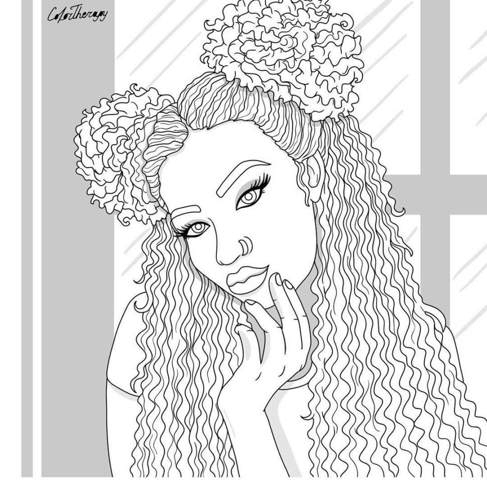 Females Run This Soundcloud People Coloring Pages Coloring Pages Cute Coloring Pages