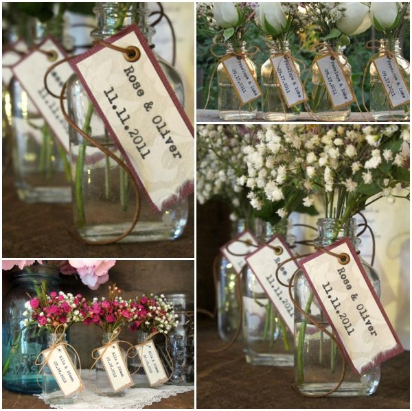Diy Wedding Favors One Hitched Lane Features Whimsical