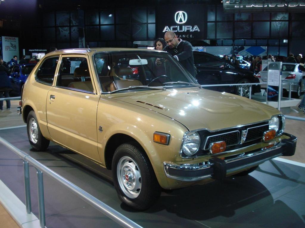 First Car Mom S 1976 Gold Honda Civic