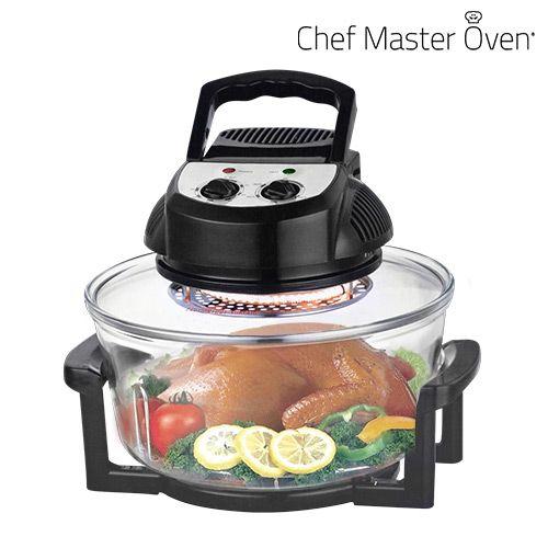 Con este completo horno de convección Chef Master Kitchen ...