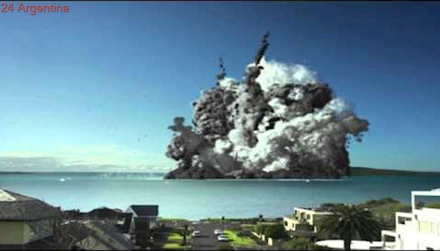 Auckland Museum Volcanic Eruption HD 720