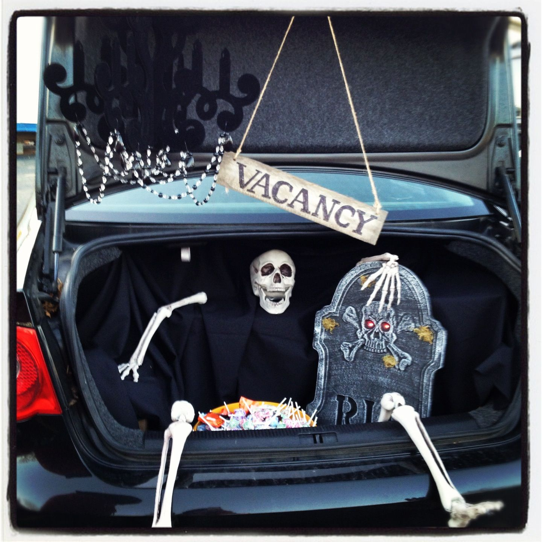Halloween Car Trunk Decorations