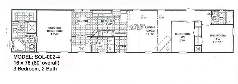 McCants Mobiles Homes Model SOL002 4