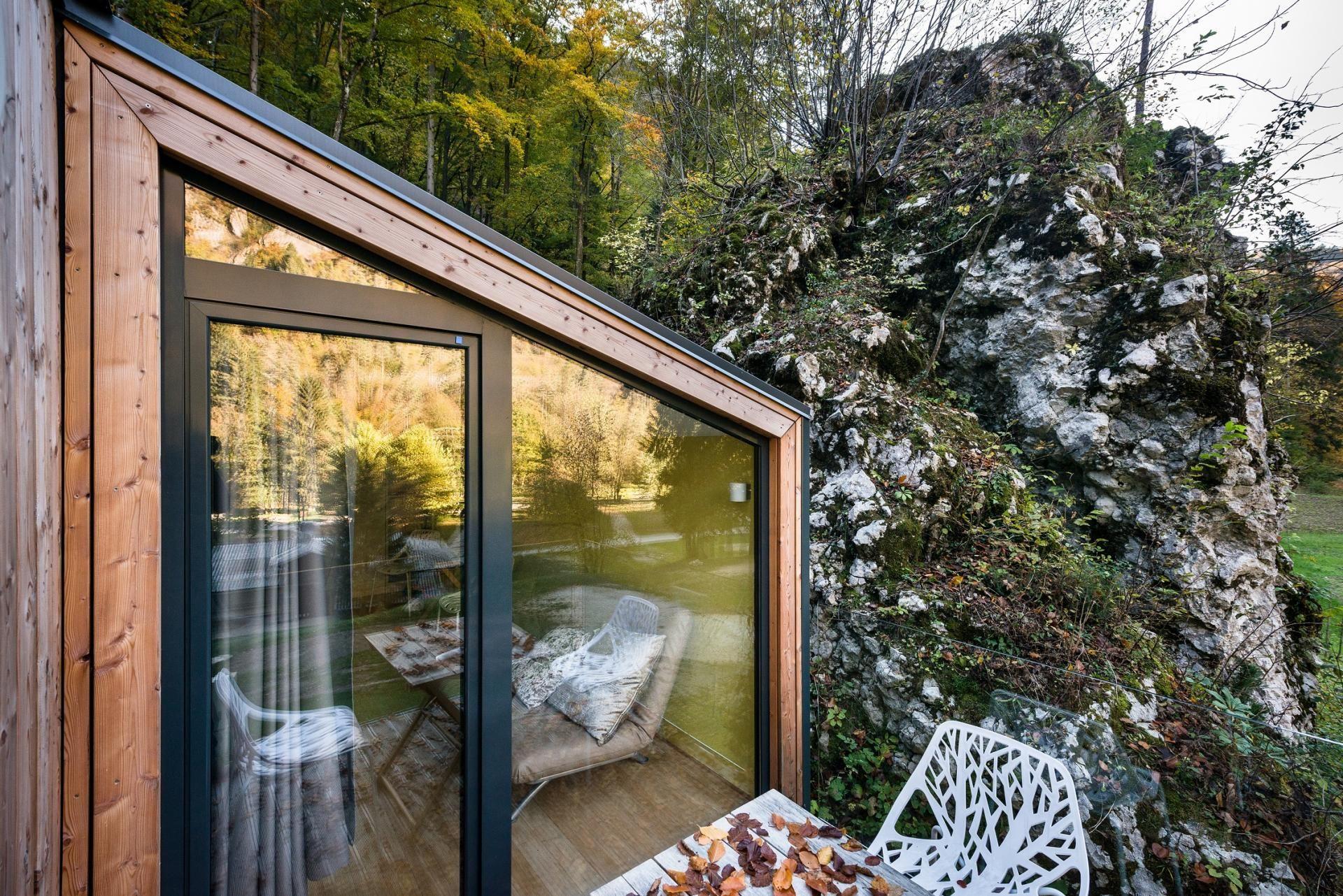Mini Chalet En Bois mini for-4 in 2020 | cabin design, prefab cabins