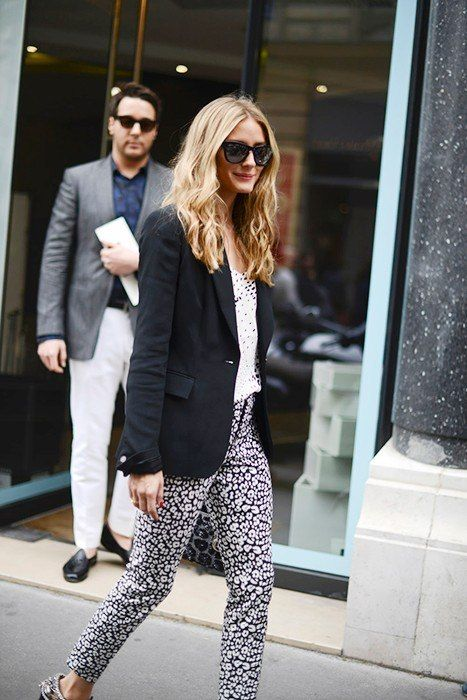 Olivia Palermo: Paris Haute Couture Street Style Fall 2014 | Vanity Fair