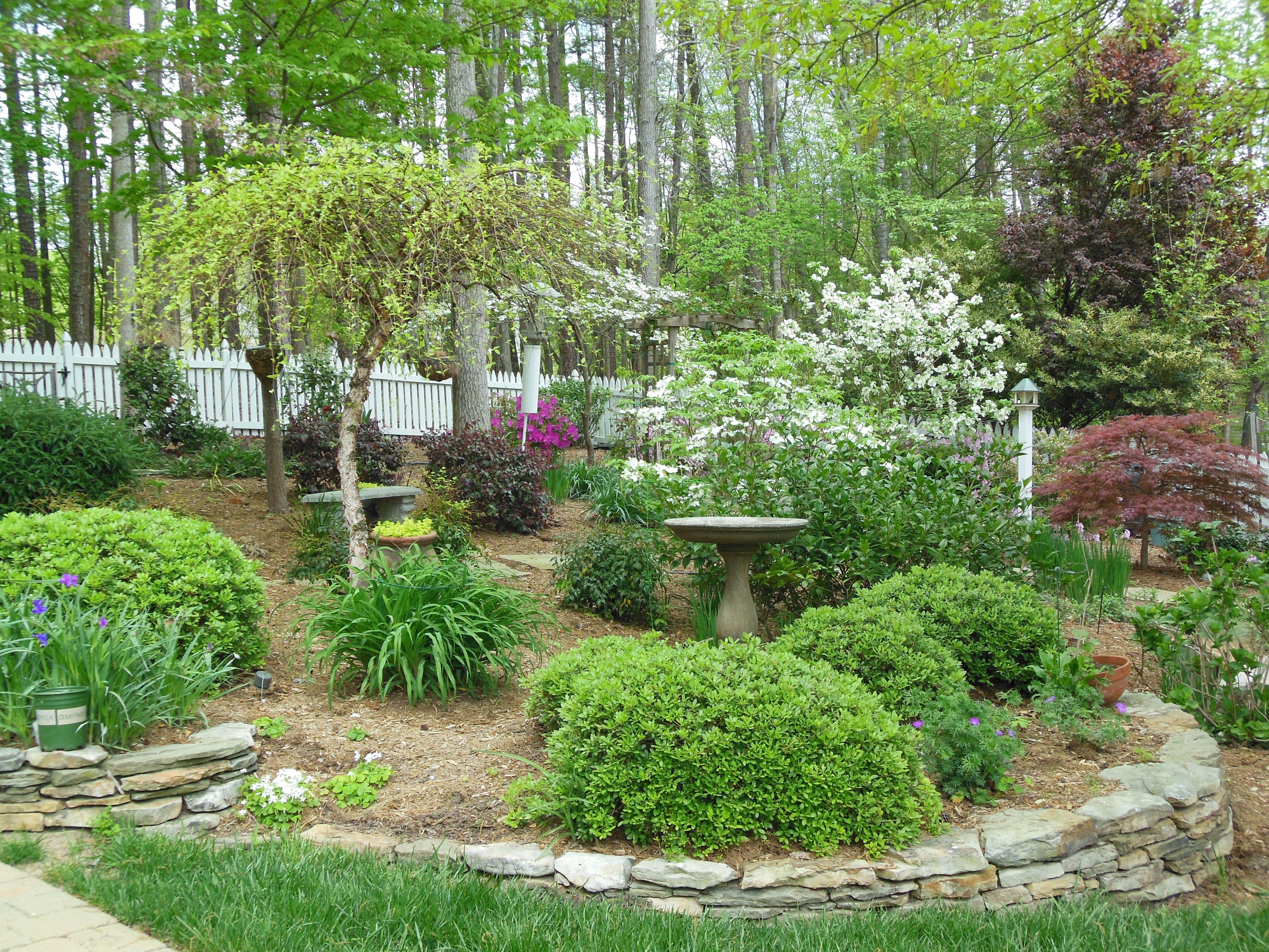 Beautiful Blooming Garden Designscapes Of Nc Landscaping Design Installation And Maintenance Raleigh North Ca Landscape Design Woodland Garden Landscape
