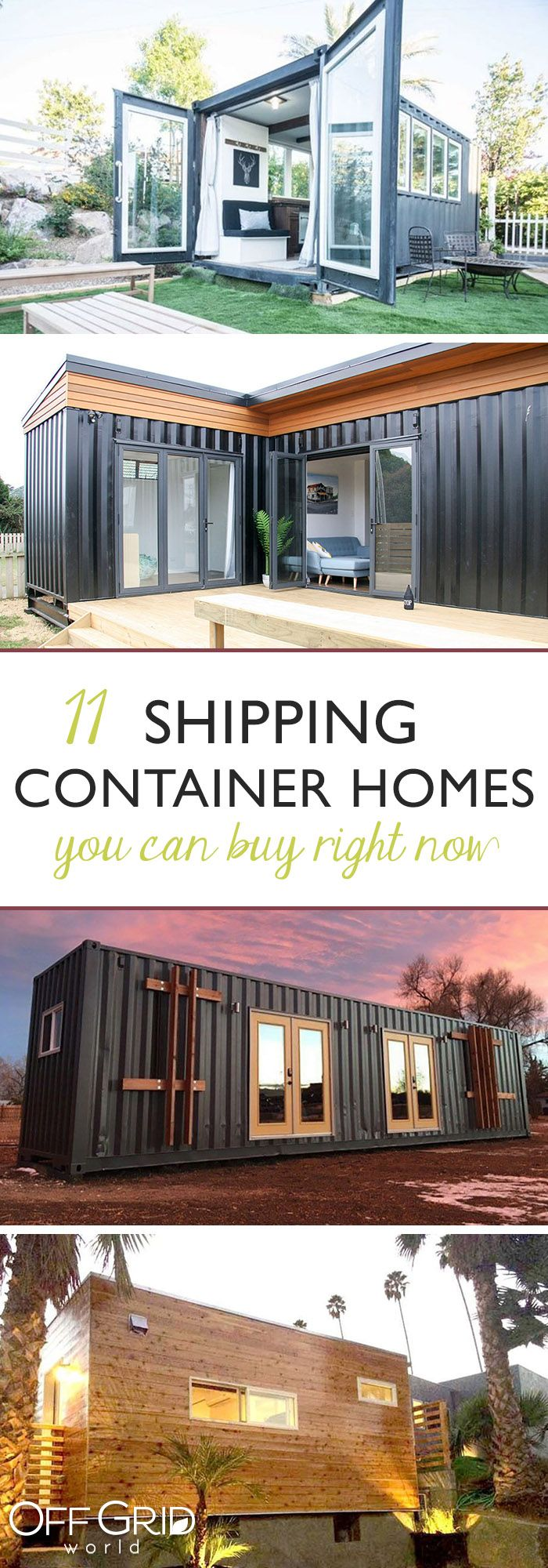 11 Shipping Container Homes You Can Buy Right Now Shipping Container Homes Container House Container House Plans