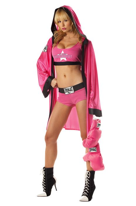 everlast boxing babe adult costume halloween sexycostumes boxing
