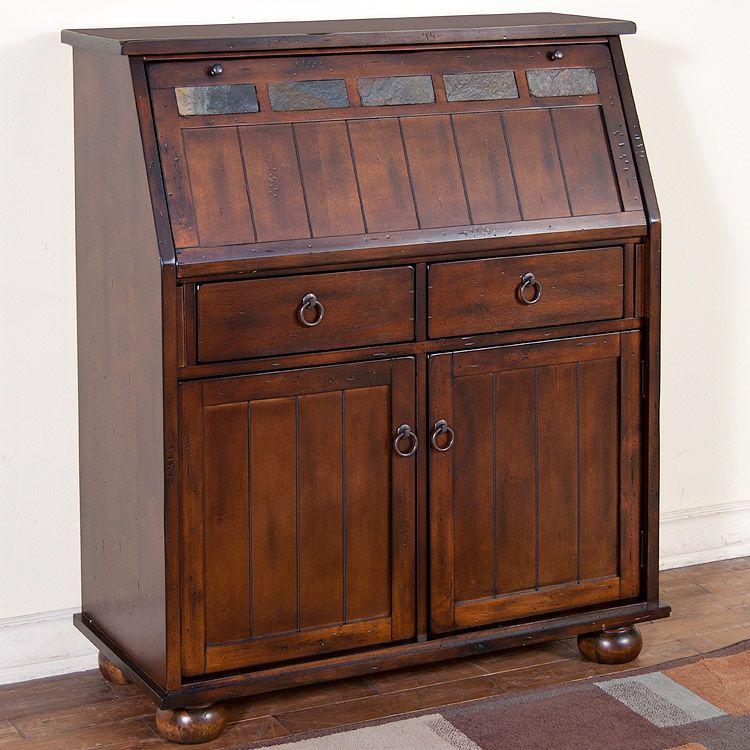 Laptop Desk, Santa Fe Rustic Furniture Collection