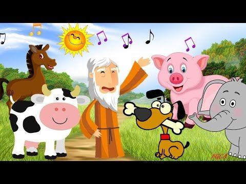 En El Arca De Noé Sonidos De Los Animales Canción Infantil Canciones Infantiles Musica Infantil Para Bailar Canciones De Niños