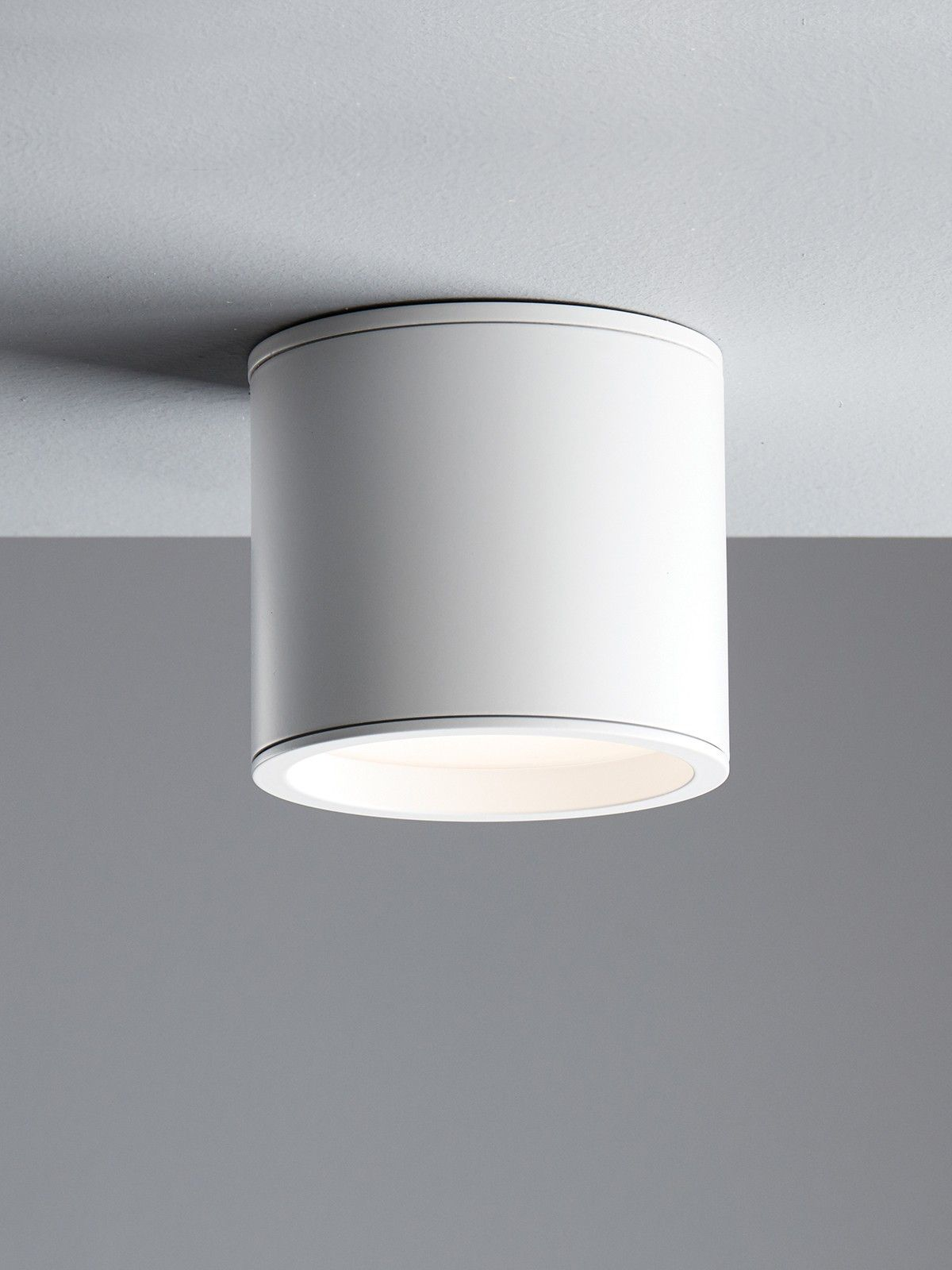 Ledlux Surface 80mm Dimmable Surface Mounted Downlight In White In 2020 Downlights Beacon Lighting Light Installation