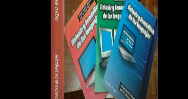 Sintaxis y Semántica de los Lenguajes - Jorge D. Muchnik Descarga Gratis el PDF deSintaxis y Semántica de los Lenguajes de Jorge D. Muchnik  Este libro cubre todos los objetivos y los contenidos de la asignatura con el mismo nombre.  Tabla de Contenido: [4 PDF]  Libro Desde los usuarios Vol.1 [azul] (Muchnik | Diaz Bott)  Libro Desde el compilador Vol.2 [verde] (Muchnik | Diaz Bott)  Libro Algoritmos Vol.3 [rojo] (Muchnik | Diaz Bott)  Agregados  Captura:  Enlace de Descarga: [3.3 MB…