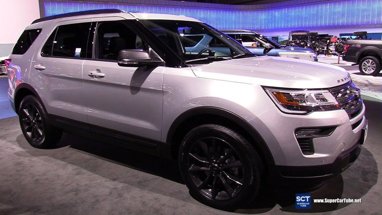 2018 Ford Explorer XLT Exterior and Interior Walkaround