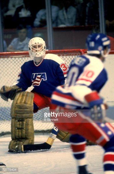 American Ice Hockey Player Tom Barrasso Goalkeeper For Team Usa The Picture Id72775404 390 594 Team Usa Hockey Hockey Goalie Usa Hockey
