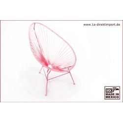 Photo of Original Acapulco Chair – pink, Designer Sessel für Outdoor und Indoor 1a direktimport