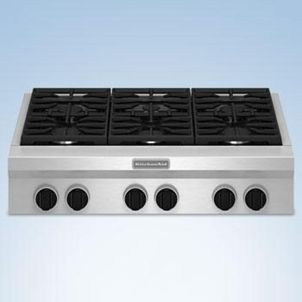 Commercial Style Gas Cooktop