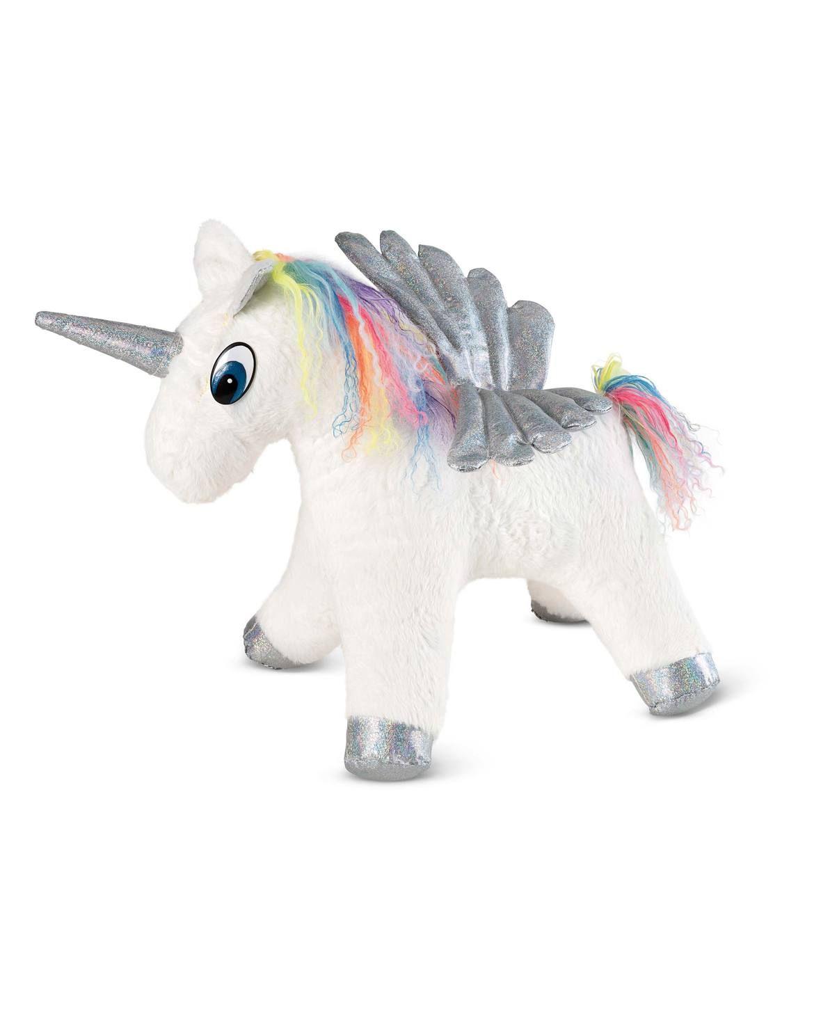 Burda Style Patterns Unicorn H W 2017 6495b Unicorn Cuddly Toy With Flat Furry And A Colorful Wool Mane The Unicorn Pferd Schnittmuster Einhorn Einhorn