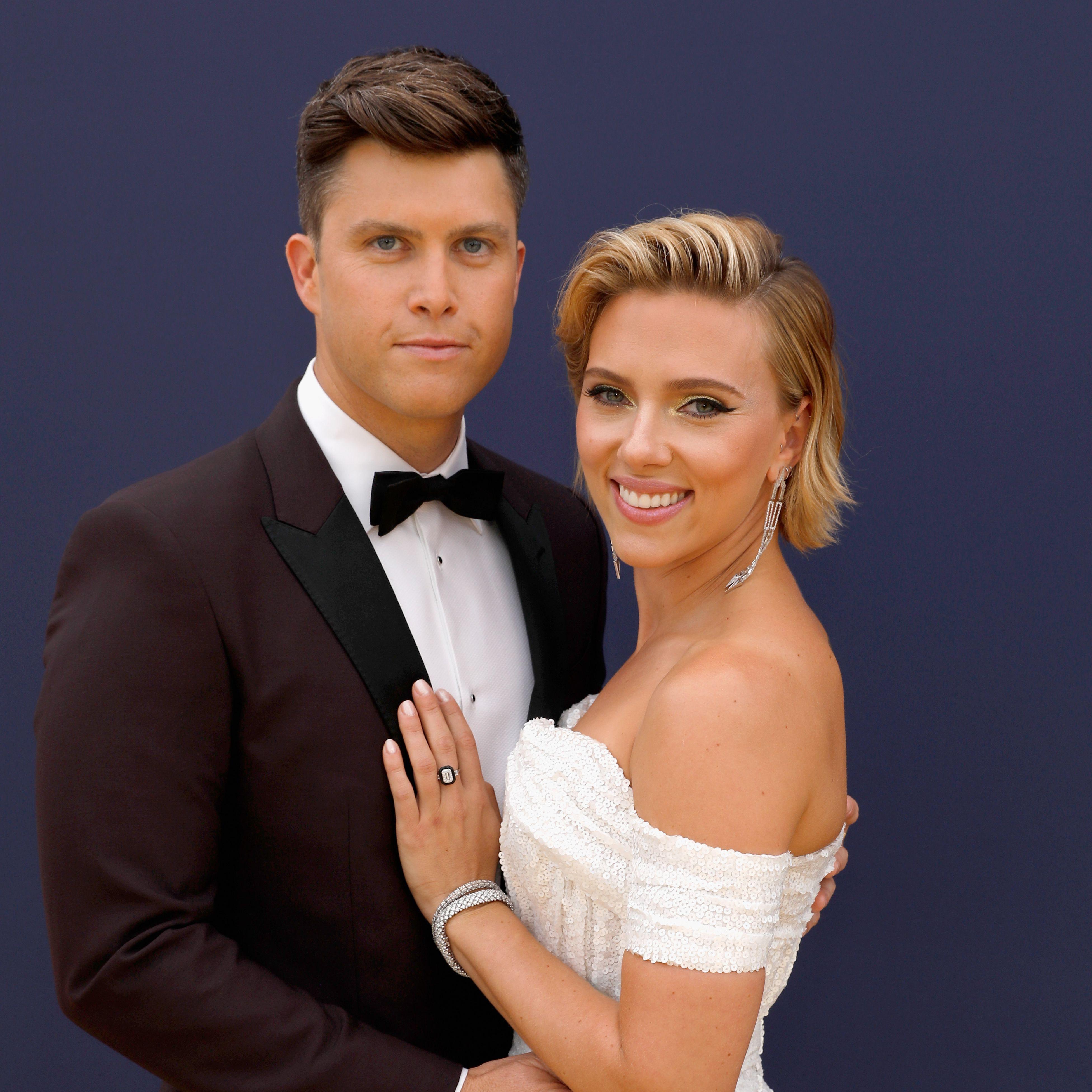 Scarlett Johansson Casually Debuted an 11Carat Diamond