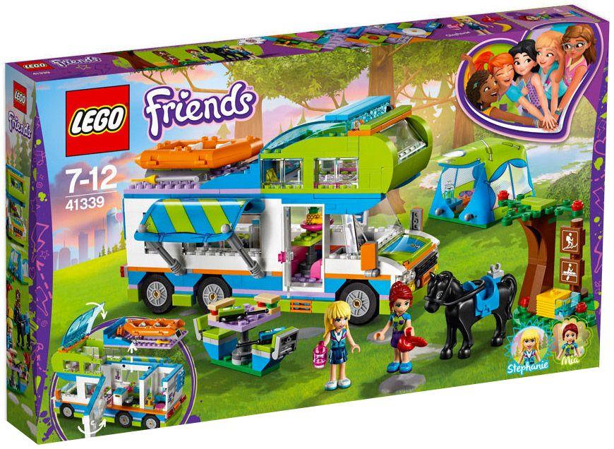 Lego Friends 41339 Le Camping Car De Mia Legos Friends Lego