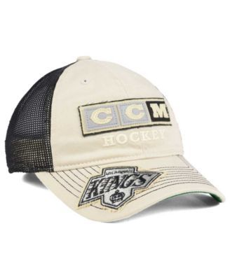 bd0787637ab9a0 Ccm Los Angeles Kings Slouch Cap - Khaki/Black Adjustable | Products ...