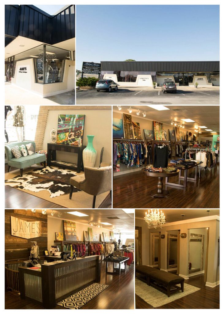 Jameu0027s Clothing Boutique   Pelletier Harbor Shops / 4426 Arendell Street 2B  / Morehead City,