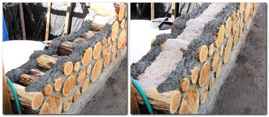 6 cordwood technology technique eco friendly house on construction of walls id=79765