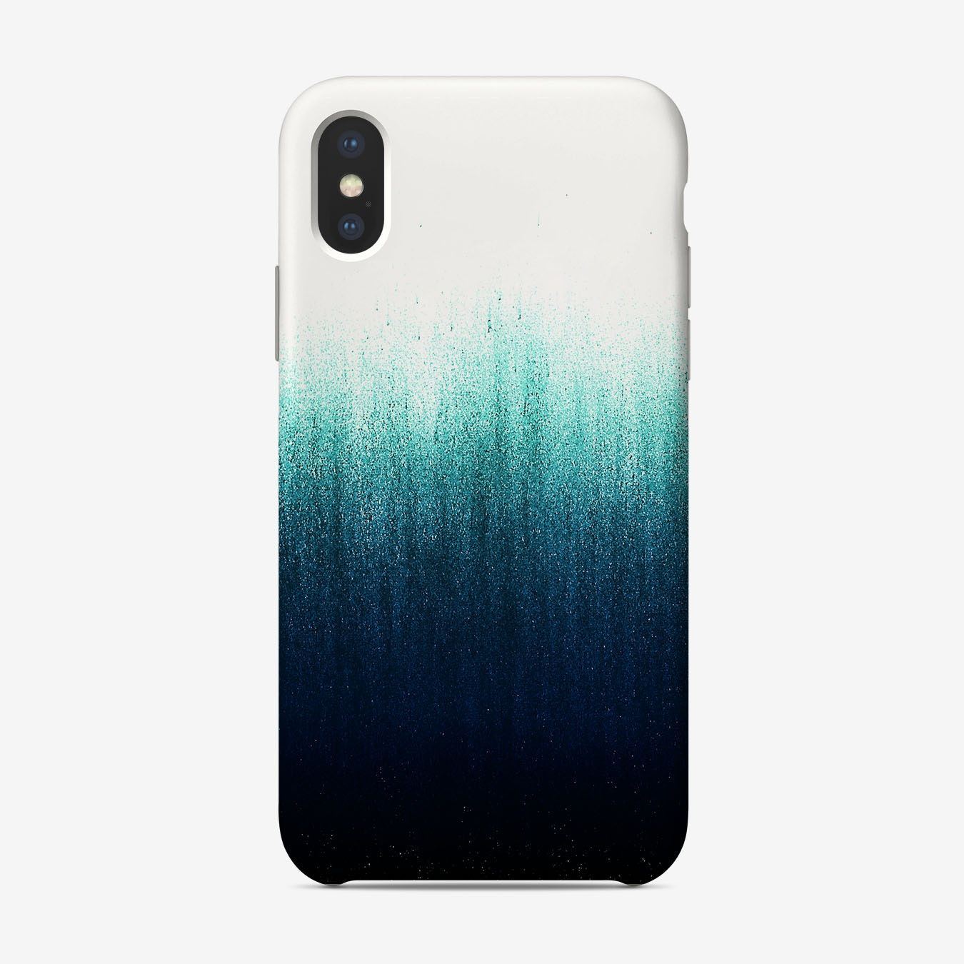 Teal Ombre Phone Case In 2020 Phone Case Diy Paint Diy Phone Case Design Diy Phone Case