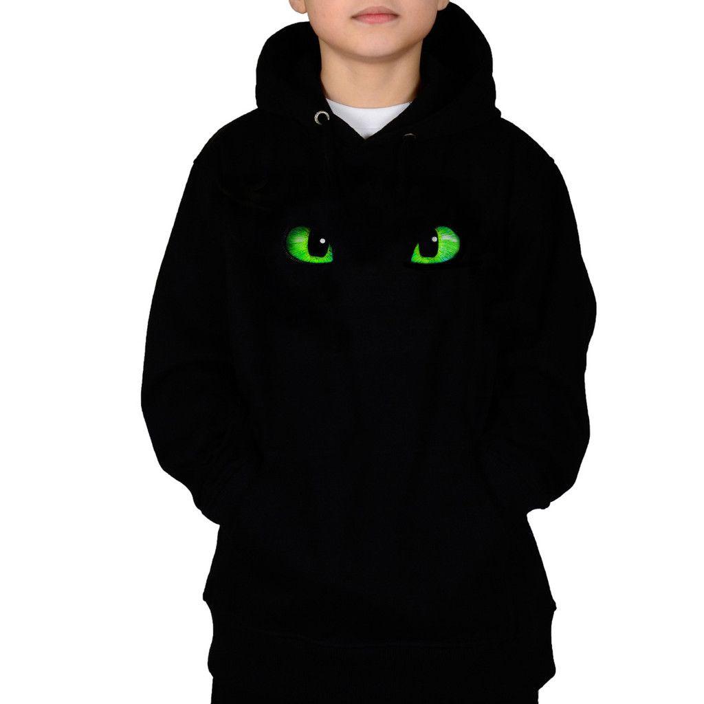 Drachenaugen King Of Shirts 48-01Kinder Hooded Sweatshirt