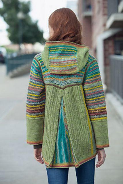 Ravelry: Chromatic Hoodie by Annie Modesitt | Patrones crochet ...