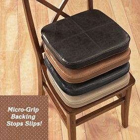 leather chair pads metal bucket chairs faux fresh finds kitchen decor more