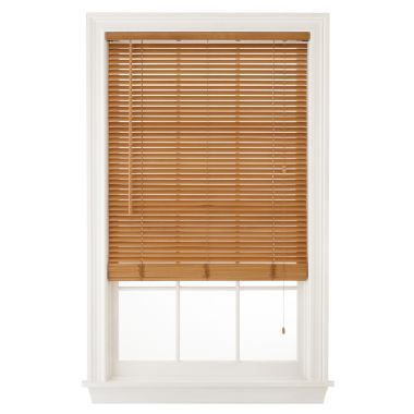 Jcpenney Home 1 Quot Natural Basswood Horizontal Blinds Found