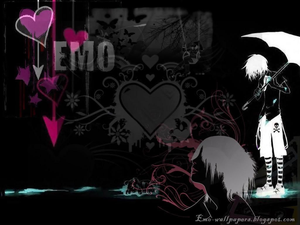 Emo Love Couples Hd Wallpapers And Pictures: Emo Wallpapers Dark Wallpapers High Quality Black Gothic