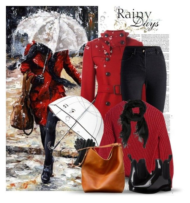 """Rainy Day"" by oribeauty-cosmeticos ❤ liked on Polyvore featuring Burberry, Sportmax, Sam Edelman, Kate Spade, Gucci and Ted Baker"