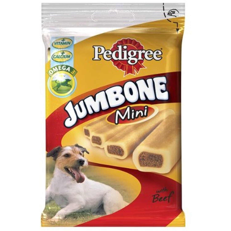 PEDIGREE® Jumbone® Mini with Beef 4 Chews 8 x 180g You