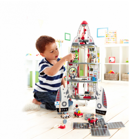 Christmas Bliss List gifts for younger kids, spaceship
