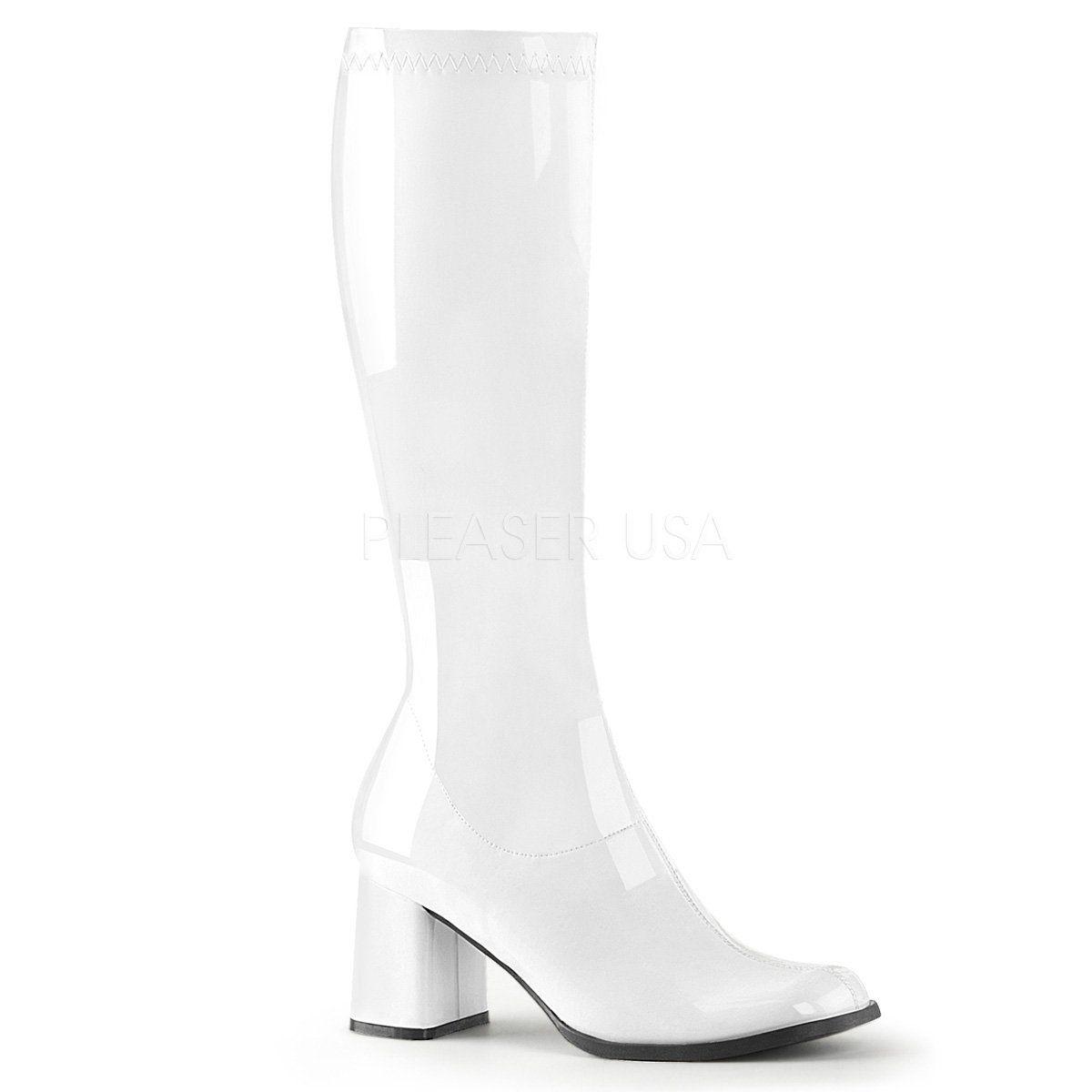 3cf256cb560 Funtasma - GOGO-300 - White Str Patent - Women's Boots in 2019 ...